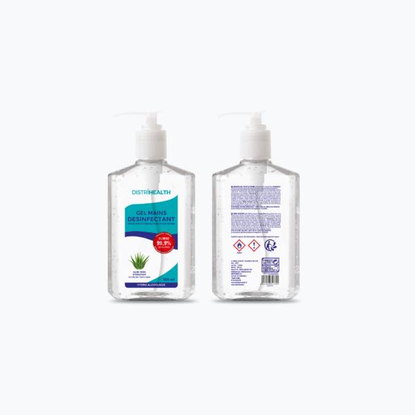 Gel hydroalcoolique à l'Aloe Vera - 500 ml
